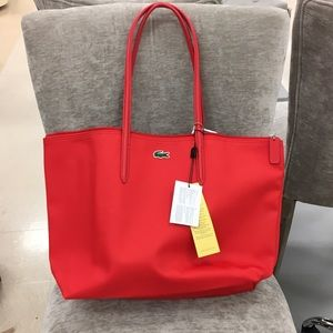 Lacoste Red Tote